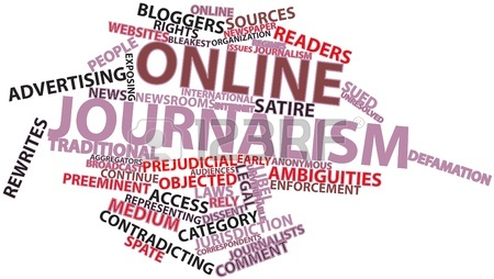 Online Journalism - pic source: 123rf.com
