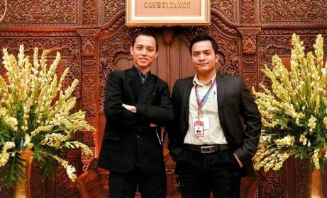 Ivan Budiman dan saya di seminar ESOMAR