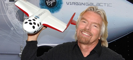 Sir Richard Branson - Virgin Galactic - pic source: dailytechdotcom