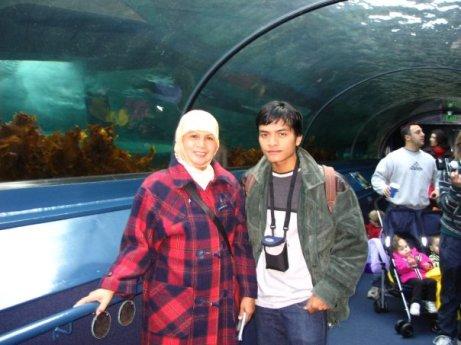 Bersama Mamah di Australia
