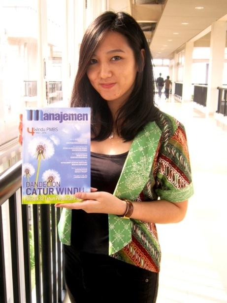 Jangan Sial Karena Media Sosial; model: Laila Larissa - S1 Bisnis 2011 Prasetiya Mulya