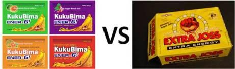 Kuku Bima Ener-G versus Extra Joss