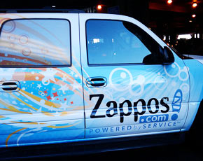 Zappos car - computerweeklydotcom