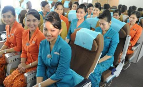Pramugari Garuda Indonesia - sumber gambar: Kaskuscoid