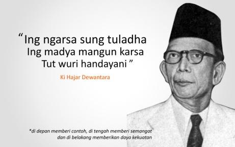 Ki Hadjar Dewantara. Sumber gambar: indobolanewscom