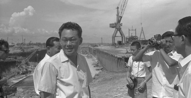 Lee Kuan Yew yang mengubah Singapura |  Gintong.me