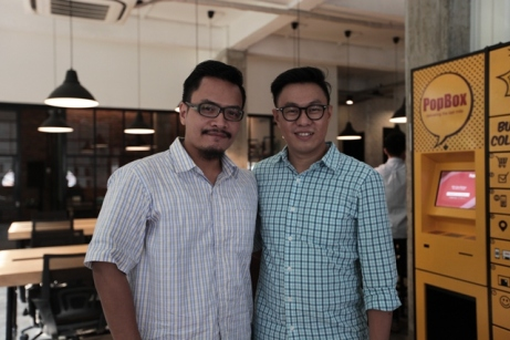 Bersama Willson Cuaca, Managing Partner East Ventures; Foto: Lilyanti