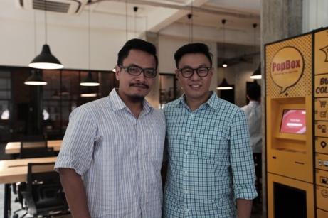 Bersama Willson Cuaca, Managing Partner East Ventures; Foto: Lilyanti