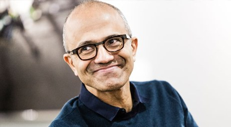 Satya Nadella, CEO Microsoft - pic source: news.microsoft.com