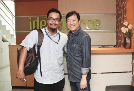 Bersama Andi S Boediman (Managing Partner Ideosource)