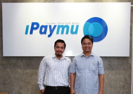 Andika Priyandana dan Budi Wiyono (CEO Ipaymu)