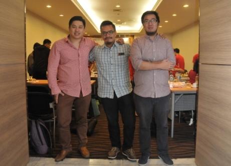 Foto bareng Joseph Aditya (CEO Ralali) dan Irwan Suryady (General Manager Ralali)