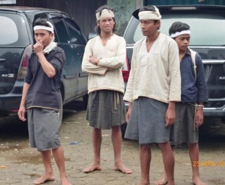 Bersiap menuju Baduy Dalam