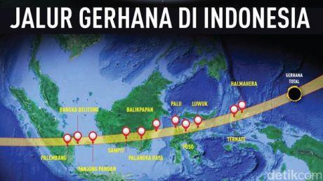 Blog Andika Priyandana - Jalur Gerhana Matahari Total di Indonesia