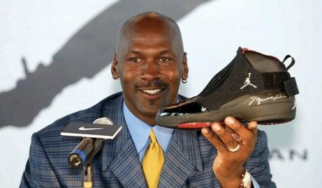 Michael Jordan - pic source brandchannelcom