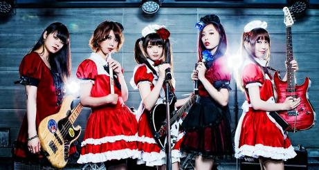 Band-Aid Japanese Girls Band make international buzz. - source: babymetal.net
