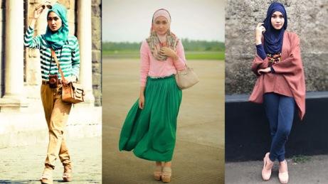 Mode Baju Muslimah Masa Kini