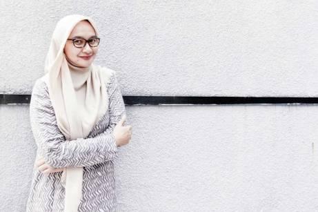 Syifa Fauzia - Ketua Hijabers Community
