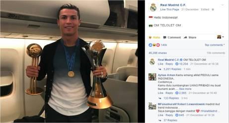 Cristiano Ronaldo Om Telolet Om