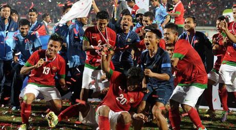 TImnas Indonesia Juara Piala AFF U19. Sumber foto: Liputan6.com