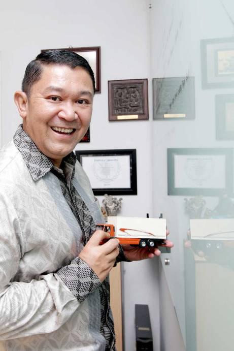Yukki Nugrahawan Hanafi - Ketua Umum DPP ALFI - foto: Lilyanti